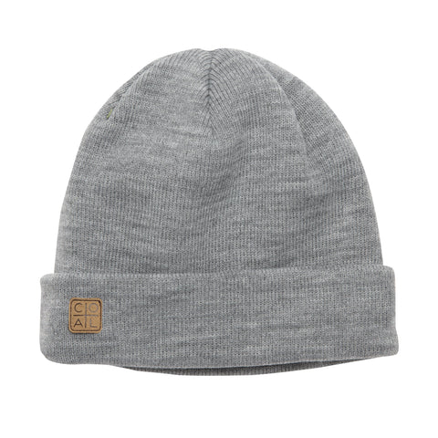 COAL HARBOR BEANIE - HEATHER GREY