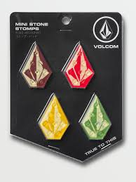 VOLCOM MINI STONE STOMP PAD - MULTI COLOUR