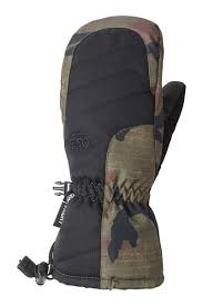 686 YOUTH HEAT INSULATED MITT - DARK CAMO