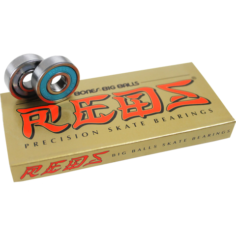 BONES BEARINGS BIG BALL REDS