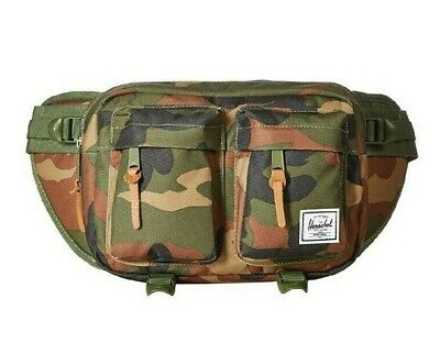 HERSCHEL EIGHTEEN 600D POLY FANNY SIDE BAG - CAMO