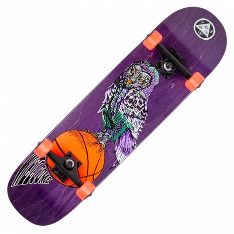 WELCOME HOOTER SHOOTER COMPLETE SKATEBOARD - 8.0""