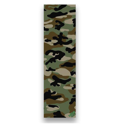 "MOB GRIPTAPE  9"" X 33"" - CAMO GREEN/BROWN"