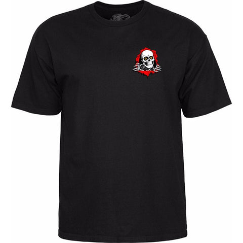 POWELL PERALTA SUPPORT YOUR LOCAL T-SHIRT - BLACK