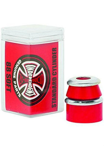 INDEPENDENT TRUCKS BUSHINGS - 88 SOFT CYLINDER RED