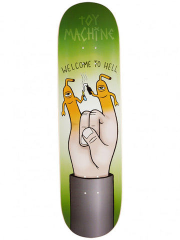 TOY MACHINE WELCOME TO HELL DECK - 8.25""