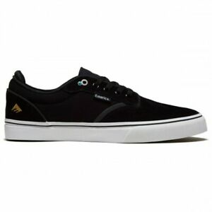 EMERICA DICKSON SHOES - BLACK / WHITE / GOLD