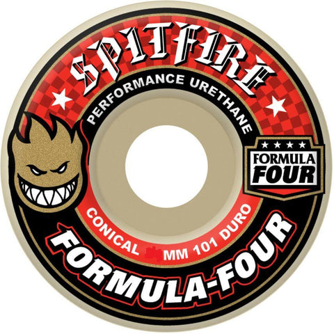 SPITFIRE CONICAL FORMULA FOUR WHEELS - 53MM 101DURO