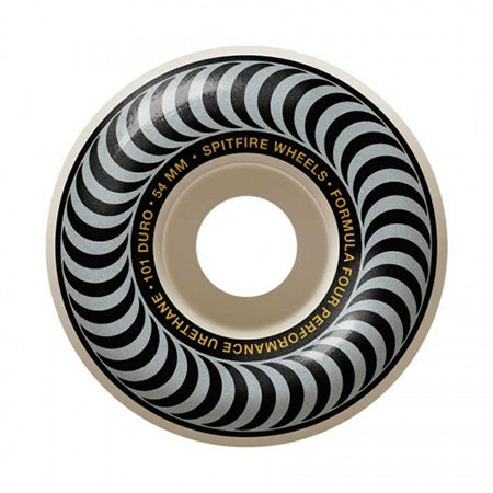 SPITFIRE CLASSIC FORMULA FOUR SILVER WHEEL - 54MM 101D