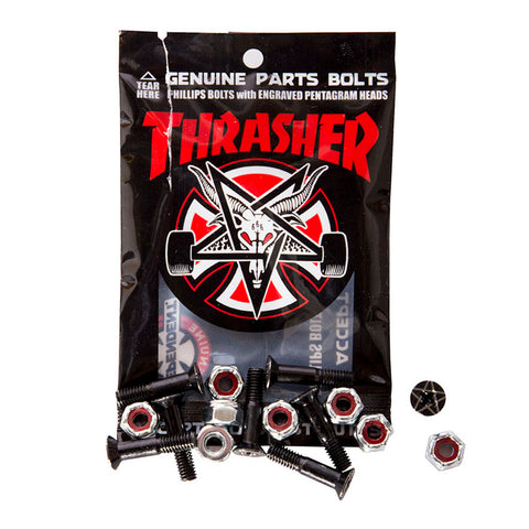 "INDEPENDENT X THRASHER PHILLIPS HARDWARE - 1"" BLACK"