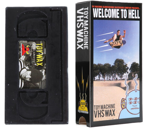 TOY MACHINE VHS WAX - BLACK
