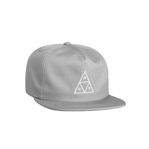 HUF TRIPLE TRIANGLE UNSTRUCTURED SNAPBACK HAT - CLOUD