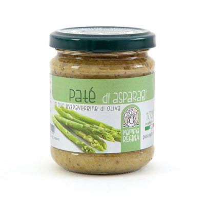 Italian Handcrafted Asparagus Pate | Organic Farming | Made in Italy Salted cream italyci