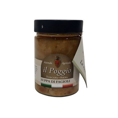 Italian Handcrafted Bean soup - Box of 6 pieces Legume italyci