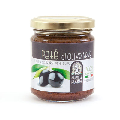 Italian Handcrafted Black Olive Pate | Organic Farming | Made in Italy Salted cream italyci