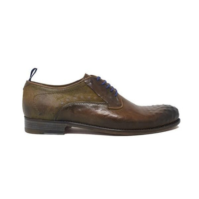 Italian Handcrafted Derby Bicolore Bolle | High Quality Leather | Luxury Shoes for Man Shoes italyci