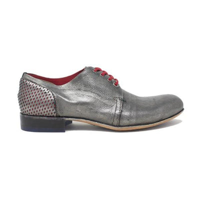 Italian Handcrafted Derby Laminata | Quality Leather | Italian Handmade | Shoes for Man Shoes italyci