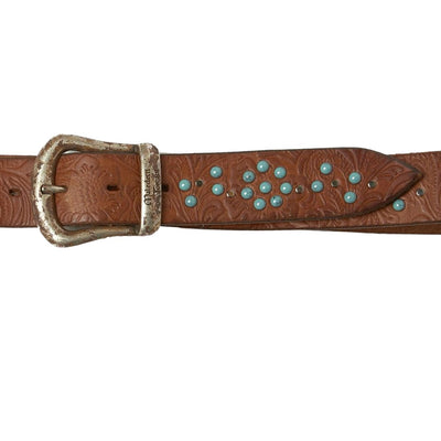Italian Handcrafted Stampa Belt | High Quality Leather | Made in Italy | Luxury Handmade Belt italyci