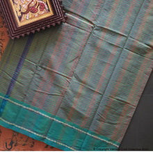 Load image into Gallery viewer, CHETTINAD STRIPES ~ Teal