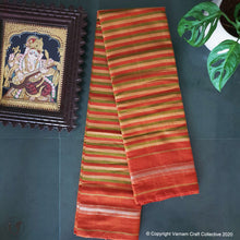Load image into Gallery viewer, CHETTINAD STRIPES ~ Earthy mustards
