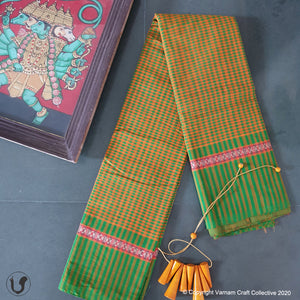 CHETTINAD mini checks ~ bright yellows