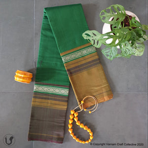 CHETTINAD GANGA JAMUNA ~ Earthy Greens