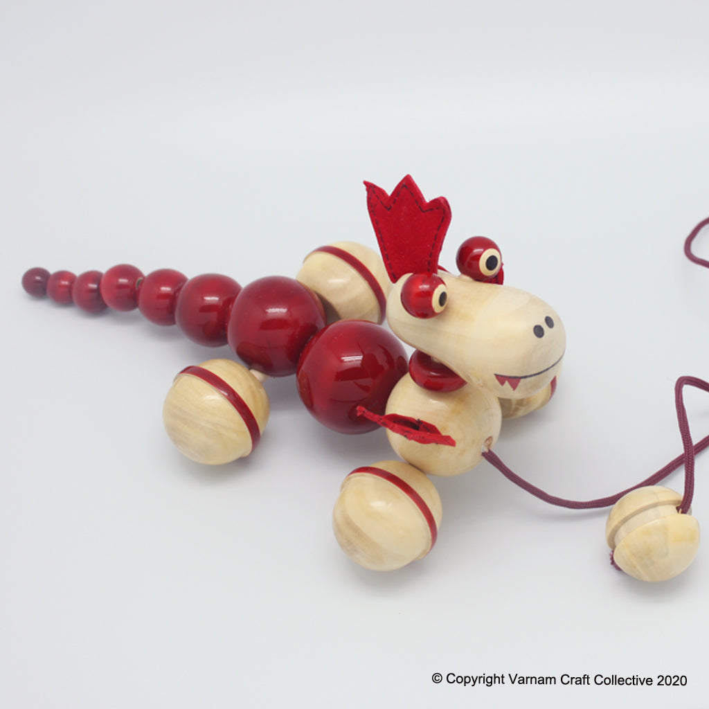 PUFF the magic dragon pull toy