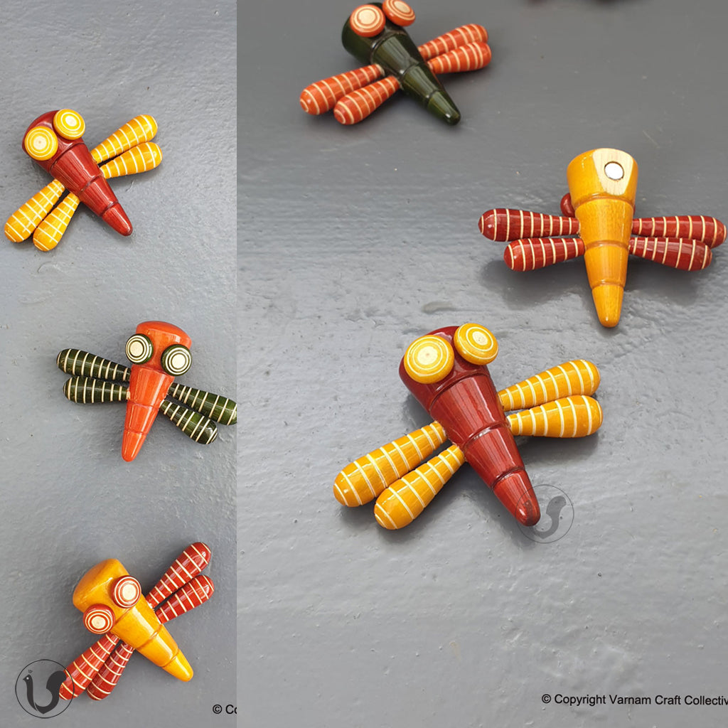 DANCING DRAGONFLY magnets (single)