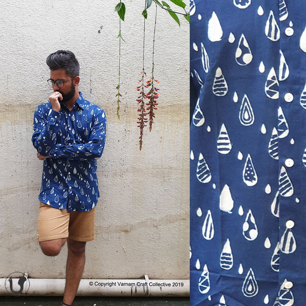 DABU BOONDEIN indigo (full sleeves)