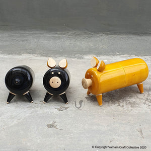 OINKSTON Salt-n-pepper set