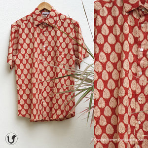 RED LEAVES (Half sleeves)