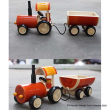 Load image into Gallery viewer, TRACTOR push toy