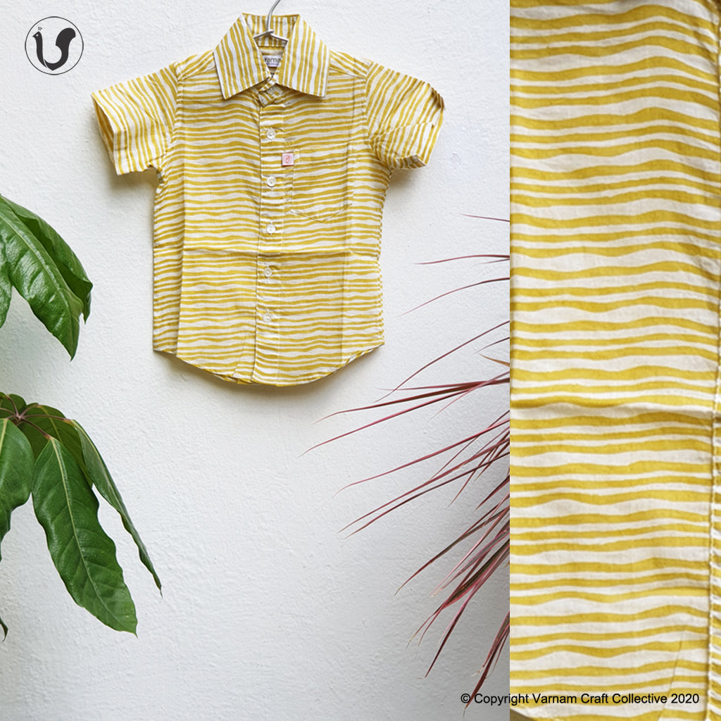STRIPES in yellow (Kids)