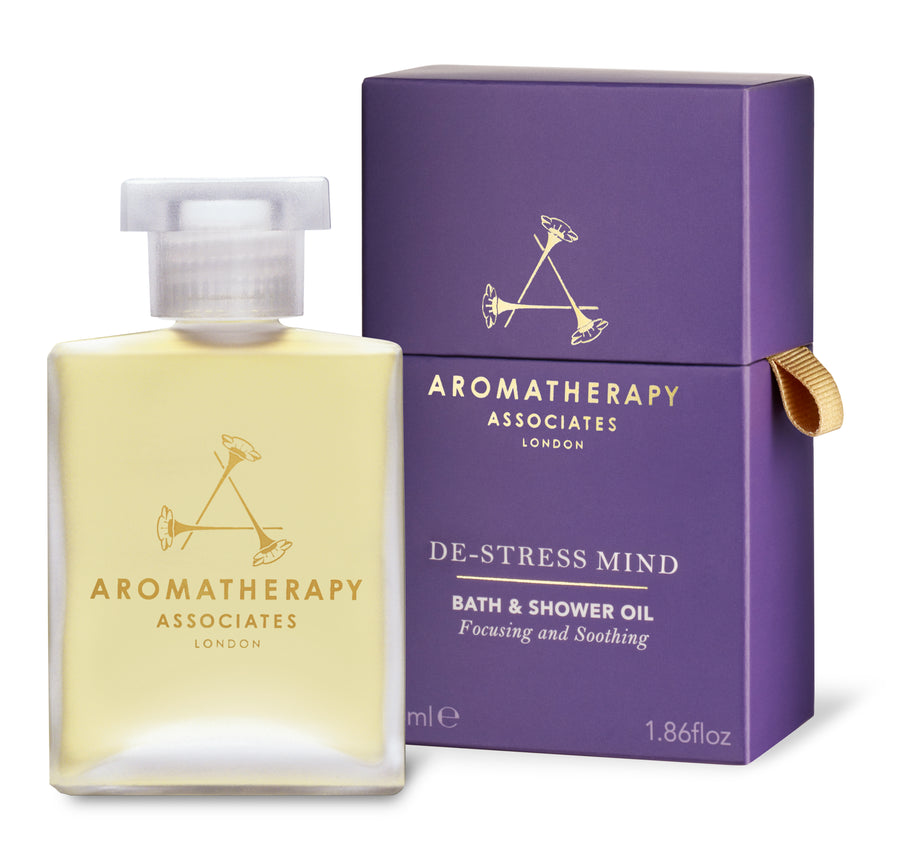De-Stress Mind Bath & Shower Oil (55ml)