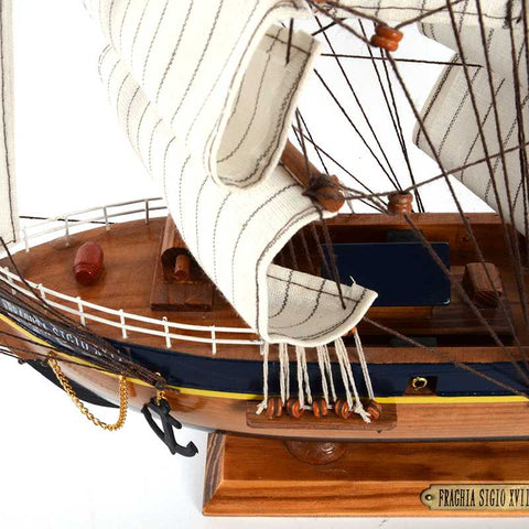 Wooden Handmade Traditional Sailing Boat - WOODLIVE
