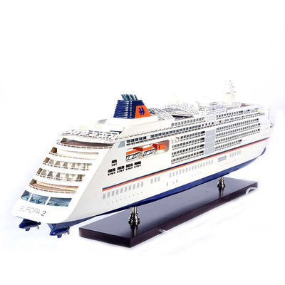 Cruiseferry Ship model with Lights - WOODLIVE