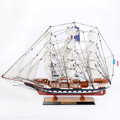 BELEM Ship Model, 1/90 Scale - WOODLIVE