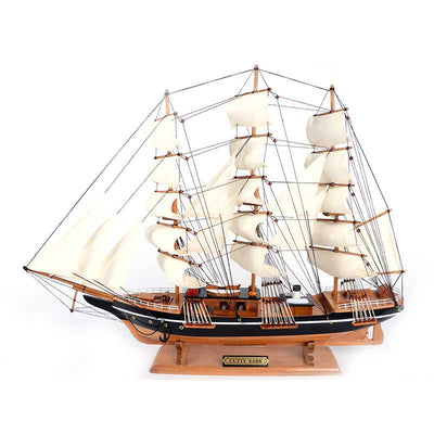 CUTTY SARK Ship Model Sailor Wood 80 cm - WOODLIVE