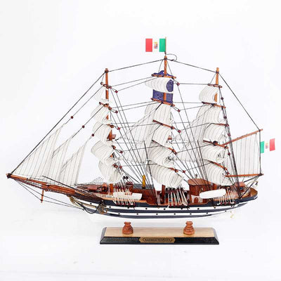 AMERIGO VESPUCCI Ship Model, 1/125 Scale - WOODLIVE