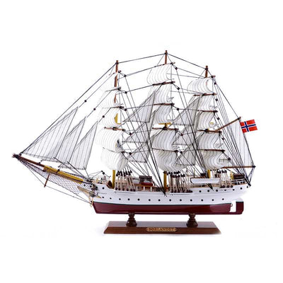 SORLANDET Sailing Ship Model, 1/87 Scale - WOODLIVE