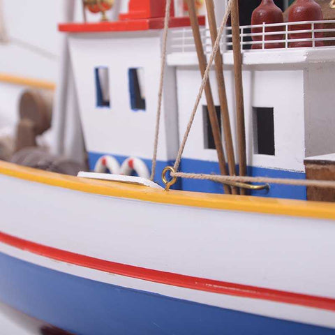 Fishing Seafood boat - WOODLIVE