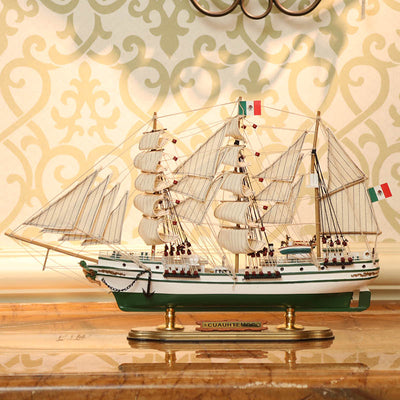 ARM Cuauhtémoc (BE01) Sailing Ship Model, 1/129 Scale - WOODLIVE