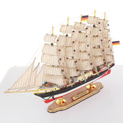 PREUSSEN Sailing Ship Model, 1/253 Scale - WOODLIVE
