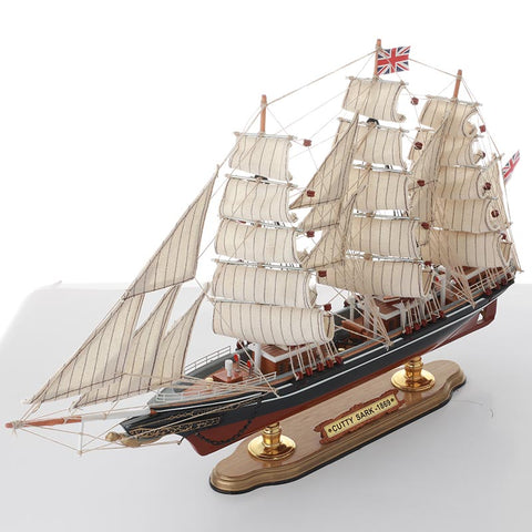 CUTTY SARK Sailing Ship Model, 1/165 Scale - WOODLIVE