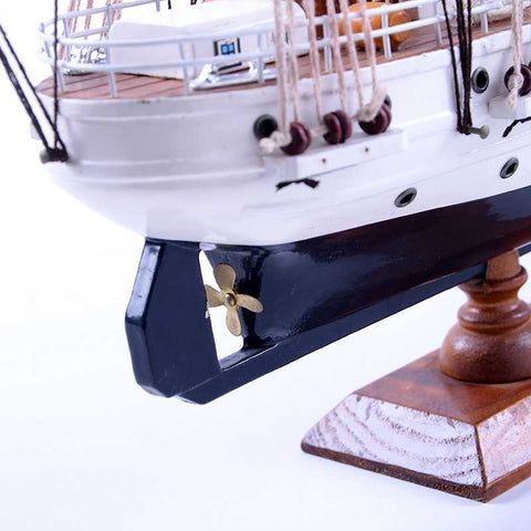 J.S. ELCANO Sailing Ship Model, 1/205 Scale - WOODLIVE