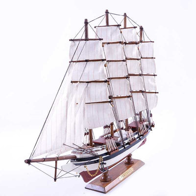 PREUSSEN Sailing Ship Model, 1/240 Scale - WOODLIVE