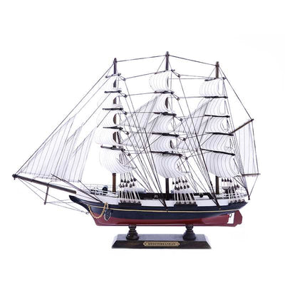 MEDITERRANEAN Sailing Ship Model, 1/240 Scale - WOODLIVE