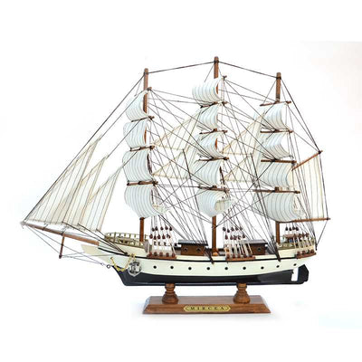 MIRCEA Sailing Ship Model, 1/150 Scale - WOODLIVE