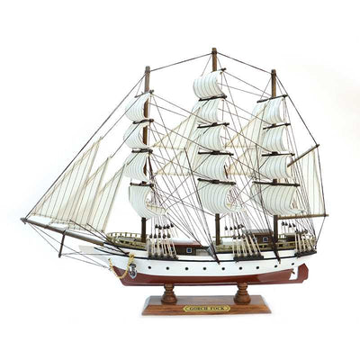 GORCH FOCK Sailing Ship Model, 1/150 Scale - WOODLIVE