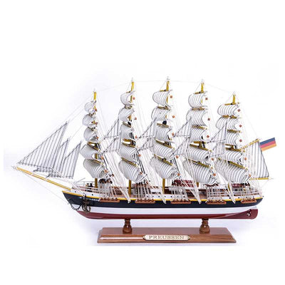 PREUSSEN Sailing Ship Model, 1/264 Scale - WOODLIVE